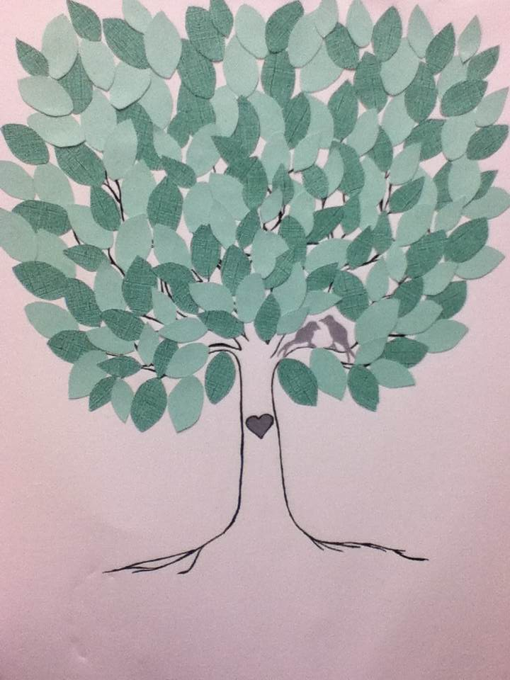 July Craft Blog: Wedding Tree Guest Book | Dollars & Cents Stores