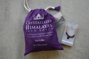 Valentines Gifts under $25 - bath salts aromatherapy bracelet